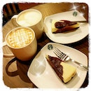 Chillax Monday with a 1-for-1 deal on the new @starbucks Brown Cow Cheesecakes!!!