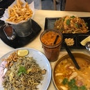 Pad Thai, Olive Fried Rice, Tom Yum Soup, Tom Yum Fries, Thai Iced Milk Tea