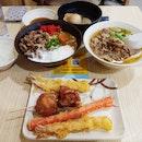 Rating 8.5/10 Yummy Tempura And Udon!
