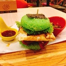 Sanook NASI LEMAK BURGER 🍔 🇲🇾 Review.