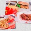 Ha Ha Cheong Gai Chicken Burger Set