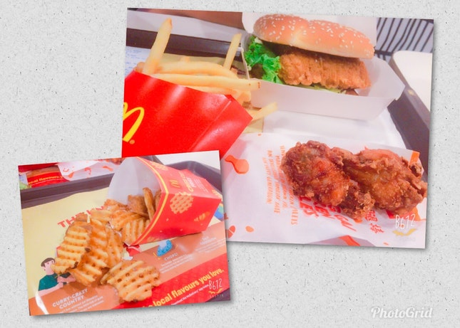 Ha Ha Cheong Gai Chicken Burger Set