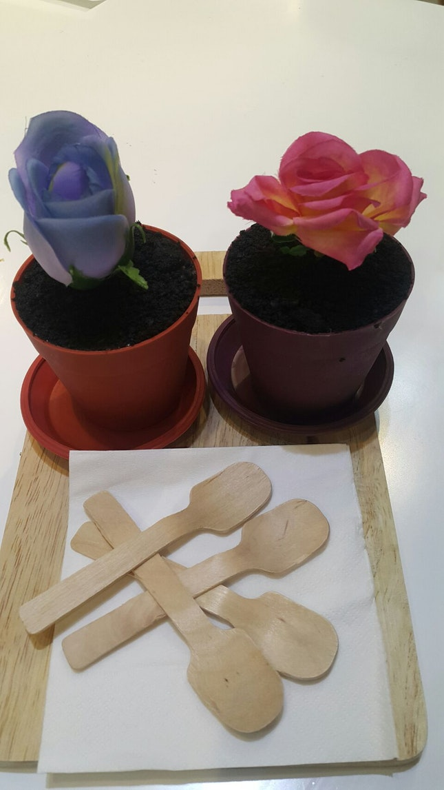 Creative Potted Dessert $4.90