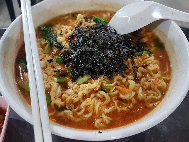 Spicy Ramen Soup