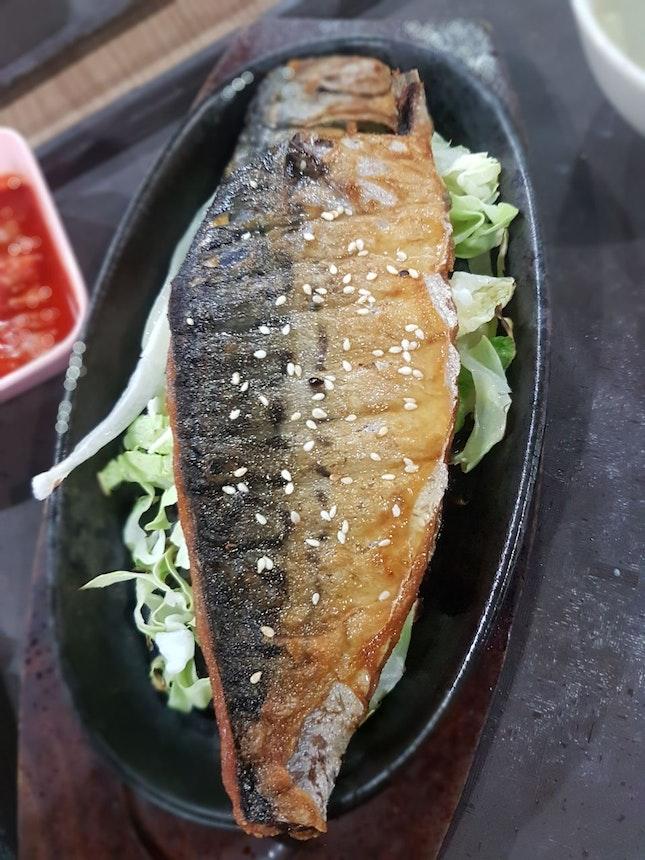 Fried Saba Set