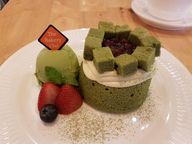 Green Forest (Matcha) Lava Cake