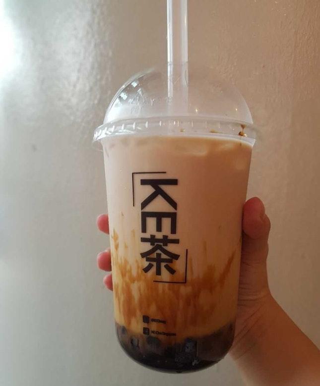 Kecha Singapore (Taiwan Brown Sugar Milk Tea (w Pearls))