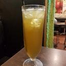 Ice Green Tea Drink