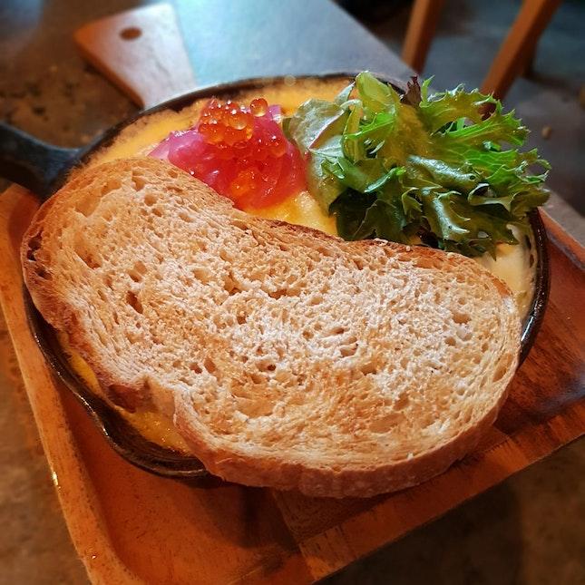 Baked Fish Omelette