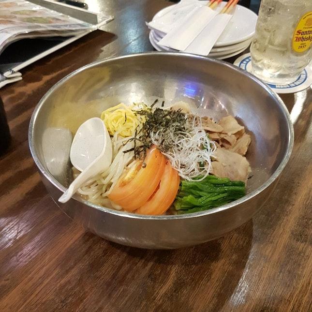 Cold Noodle (Sesame Flavour)