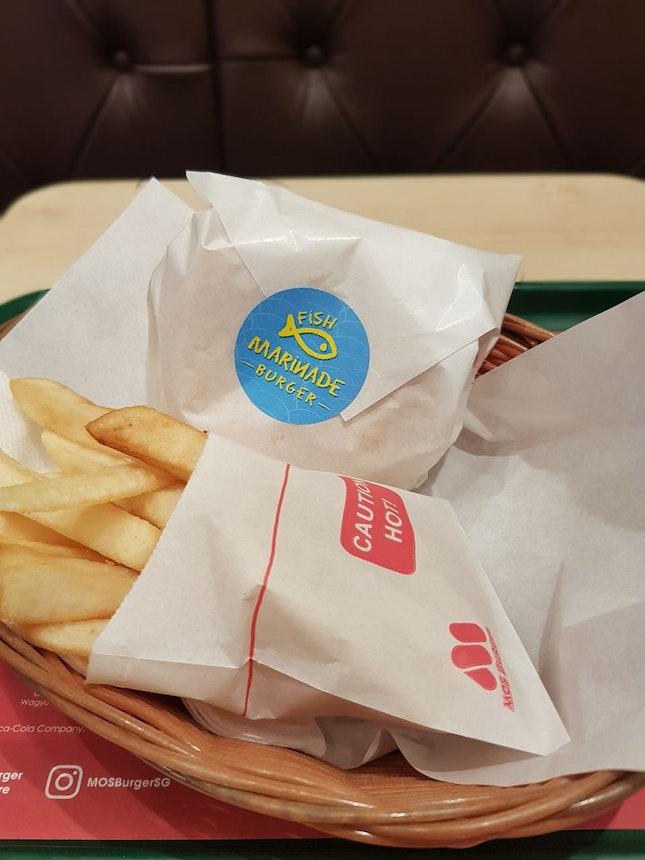 Fish Marinade Burger