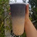 'TAN' (Charcoal Oolong) Milk Tea