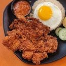 Atas Cutlet Rice from Ah Tan Wings ($6.80)