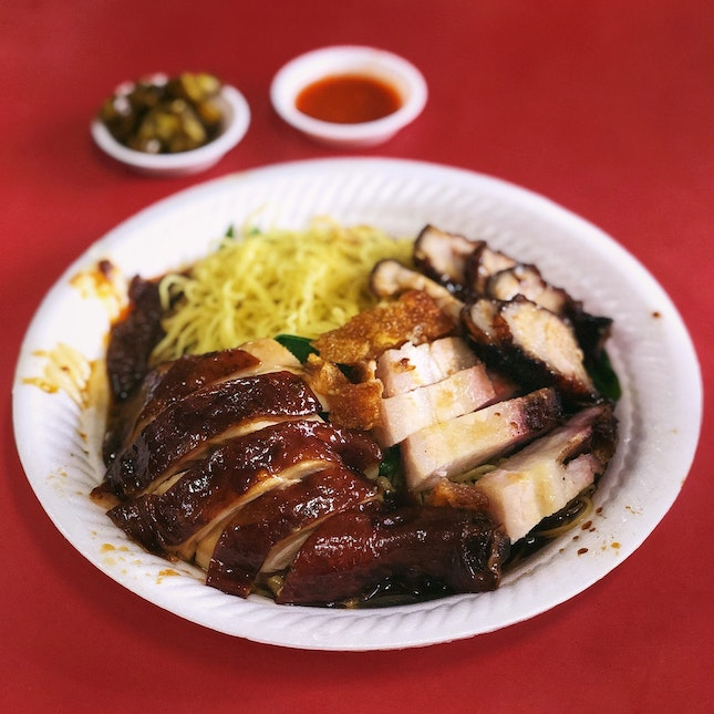Commercialised Michelin-Starred Hawker Food