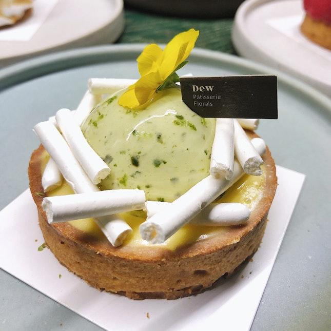 Basil Lime Tart (RM 19)