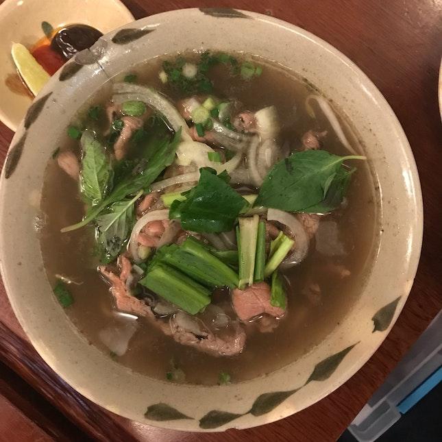 Pho Bo (Vietnamese Beef Noodles)