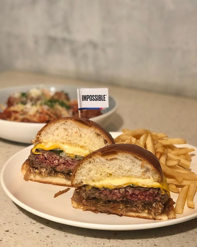 Impossible burger!