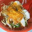 Dry Kuay Tiew Noodles With Curry