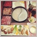 #piggingtime #after #longday at #work #tableful #healthyfood #instafood #foodporn #foodlover #burpple #instadinner #sukiya