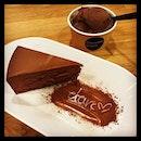 #chocolateinjection #secondstomach #alwaysthere 🍫#darkchocolatecake #darkchocolateicecream 🍦 #everythingchocolate #chocolate #overdosed #fatdieme #instafood #instadessert #foodporn #foodlover #burpple #chocolateorigin #chocolateoriginsg #felzfooddiary