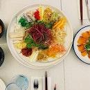 Contemporary European cuisine with selective Asian influences - #itstimeoftheyear #healthierversion of #yusheng in #europeanrestaurant 🥢 #first #louhei #oftheyear #teamlunch #toss for #thebestluck #huathuat #wangwang #yearofthepig 🐷 #prelim #festivecelebrations #festivemood #activated #cny2019 🍊 #eachdish is #simplydelicious #instafood #foodporn #foodlover #burpple #venuebysebastian #felzfooddiary