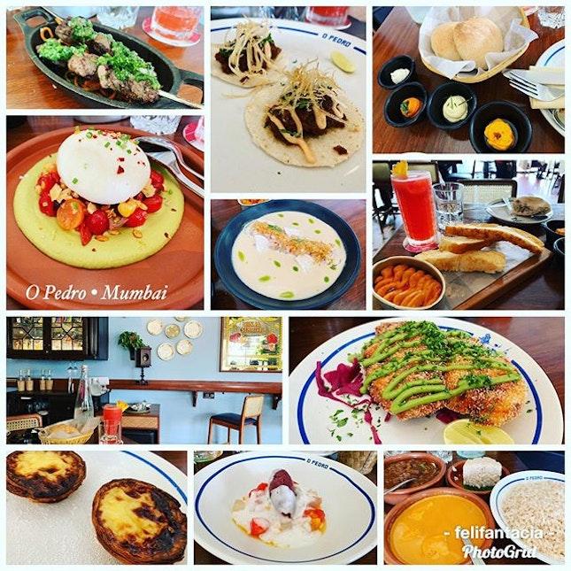 #highlightofthemeal #pasteldenata #portugueseeggtart #indeed #yummilicious #tablefull #goanportuguesecuisine #tastingmenu #hugeserving #foodcoma #whatthelocalseat #wherethelocalsgo #instafood #foodporn #foodlover #burpple #instatravel #opedro #bkc #mumbai #india #in #felzfooddiary #felztravelfootprint2019 #felzworktrip #felzinmumbai