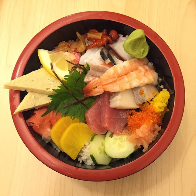 🙋🏼 chirashi don  prolly de worst chirashi I have ever eaten.