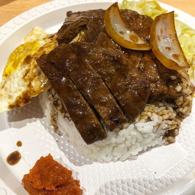 Soya Sauce Pork Chop 🐽 .