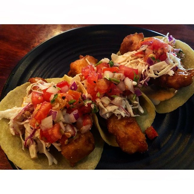 | Baja Fish Tacos |  I believe I have found my new favourite Mexican restaurant.