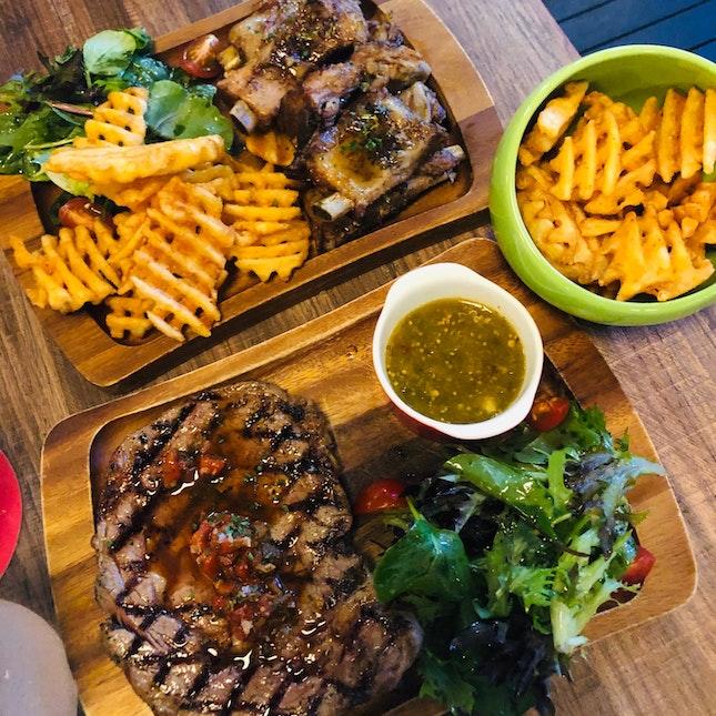 Amazing pork ribs