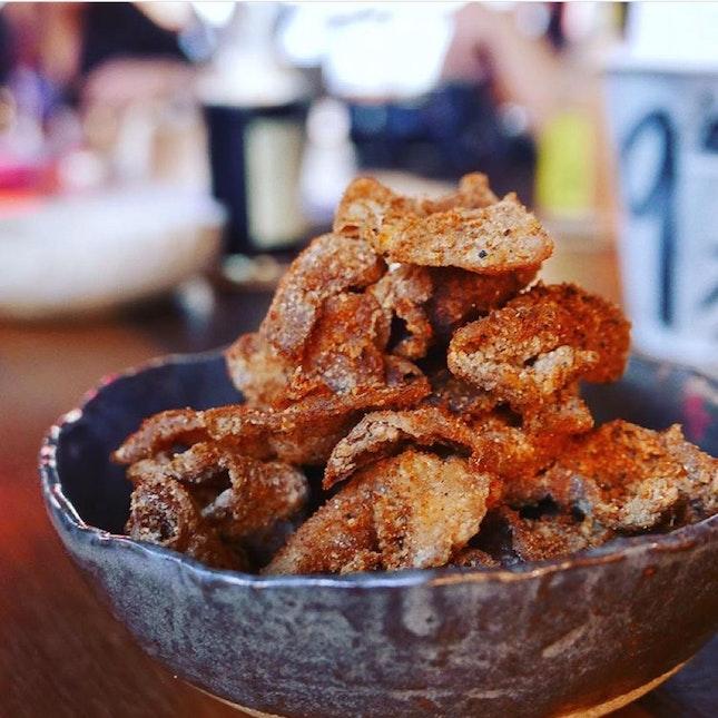 Fried Chicken Skin ($8++)