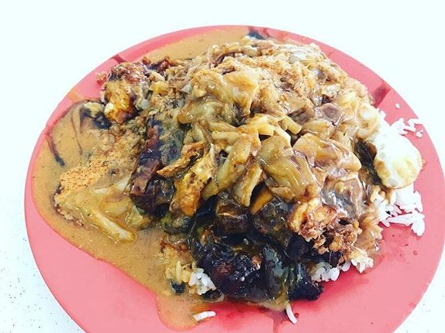 Scissors Curry Rice [$4.50] YUMMY TUMMY!