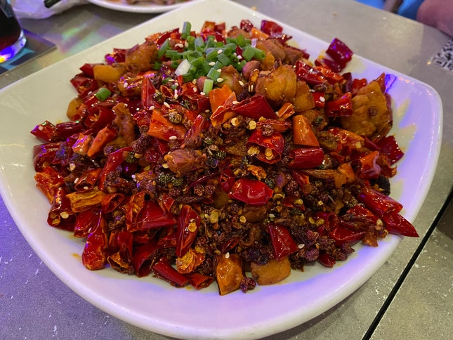 Spicy Chicken Cubes ($12.80)