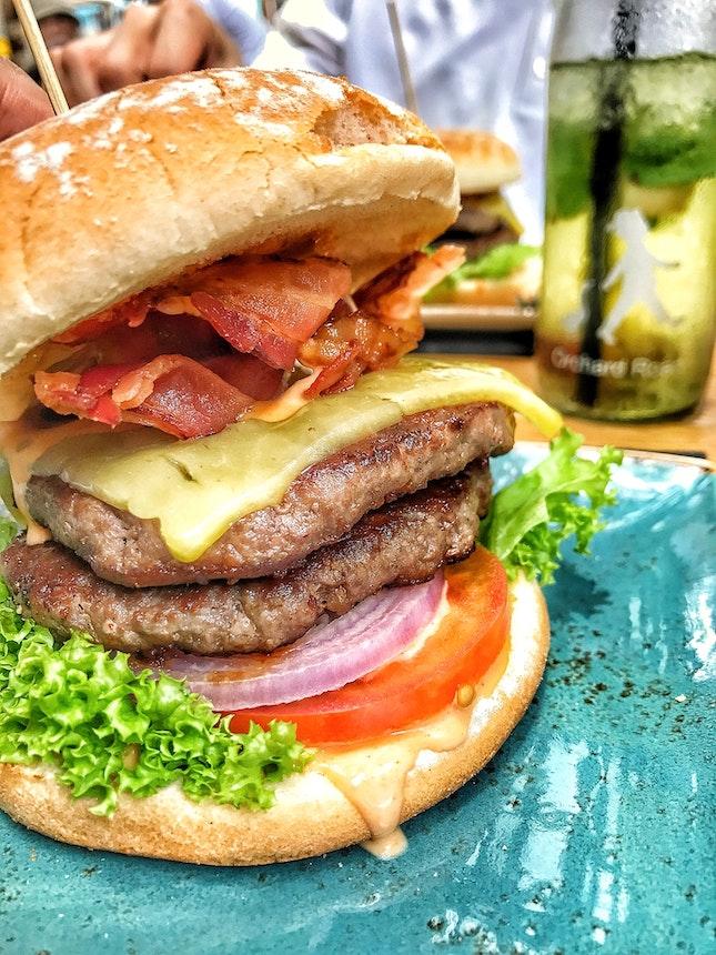 Kase & Speck Burger