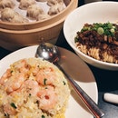 Egg Fried Rice W Shrimp, 炸酱面, XLBs