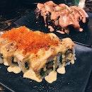 Shiok Maki V2, Softshell Crab Salmon Aburi Mentai Maki