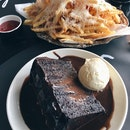 Truffle Fries, Double Chocolate Blackout Cake