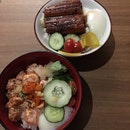 Salmon Mentai, Unagi Rice Bowl