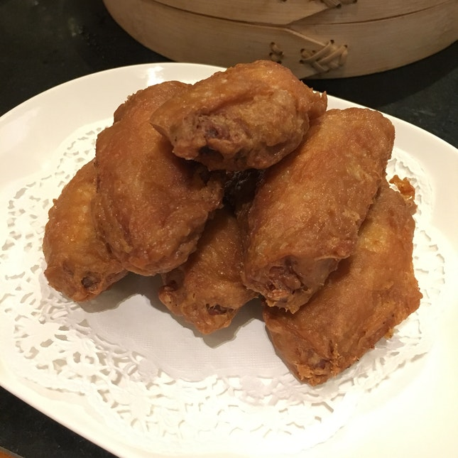 Crispy Prawn Paste Wings