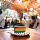 Chocolate Rainbow Cake