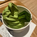 Matcha Soft Serve W Nama Chocolate