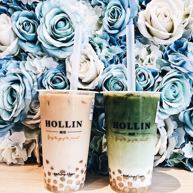 Craving for bubble tea on a sunny Saturday?