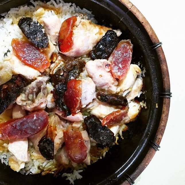 New Lucky Claypot Rice @ Holland Drive Market & Food Centre.