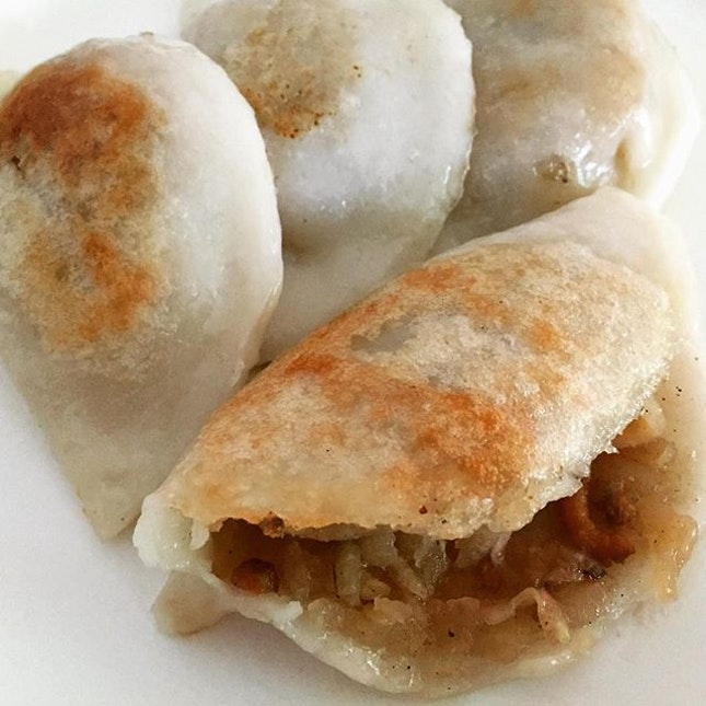 Pan-Fried Soon Kueh @ Lai Heng Handmade Teochew Kueh 莱兴手工潮州粿, Yuhua Market and Hawker Centre, 347 Jurong East Ave 1.