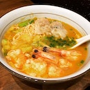 Le Signature Trio Shrimp Ramen 招牌三虾赤汤面 @ Le Shrimp Ramen, 290 Orchard Road, Paragon #B1-42.