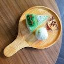 Ondeh Ondeh Cake with Vanilla Ice Cream @ #tobysthedessertasylum Tradehub21, 8 Boob Lay Way #01-35.
