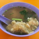 Prawn Dumpling Soup @ Hong Thye Noodles 福泰面家, Blk 353 Clementi Avenue 2 Cooked Food Centre #01-61.