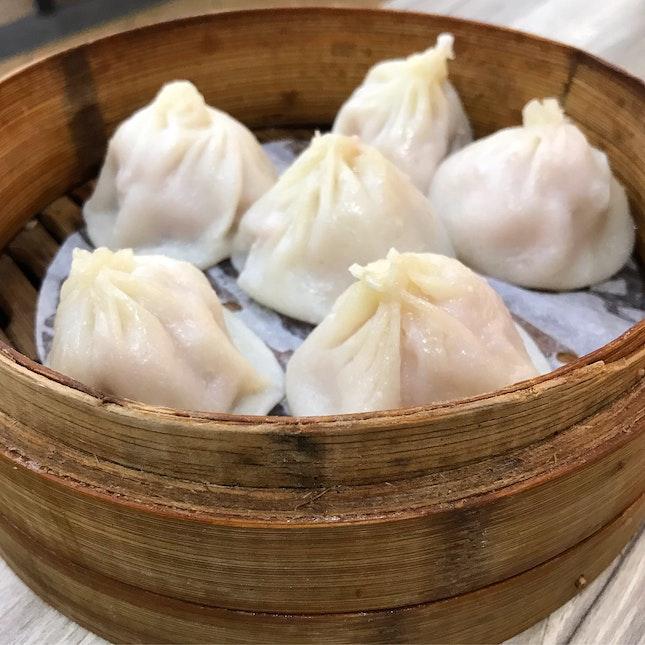 Shanghai Xiao Long Bao 上海小笼包 [6pcs] @ Xin Peng La Mian • Xiao Long Bao 鑫鹏拉 •. 小笼包, Blk 442 Clementi Avenue 3.