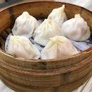 Shanghai Xiao Long Bao 上海小笼包 [6pcs] @ Xin Peng La Mian • Xiao Long Bao 鑫鹏拉 •.