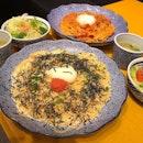 Mentaiko Carbonara With Onsen Egg & Chilli 🌶 Tomato Carbonara With Onsen Egg @yomenyagoemonsgp   The Star Vista   #02-04.